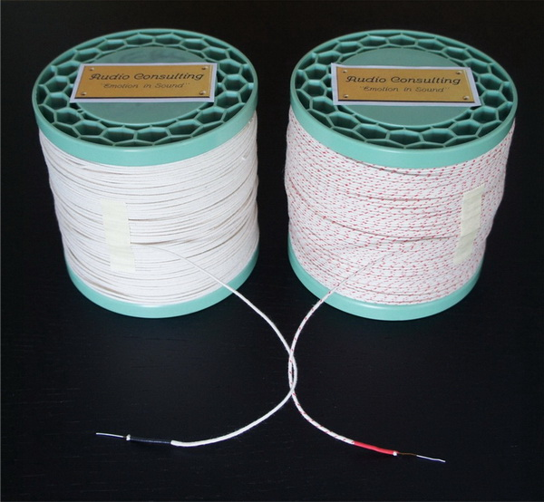 Silver Wire With Cotton Isolation Silver Wire With