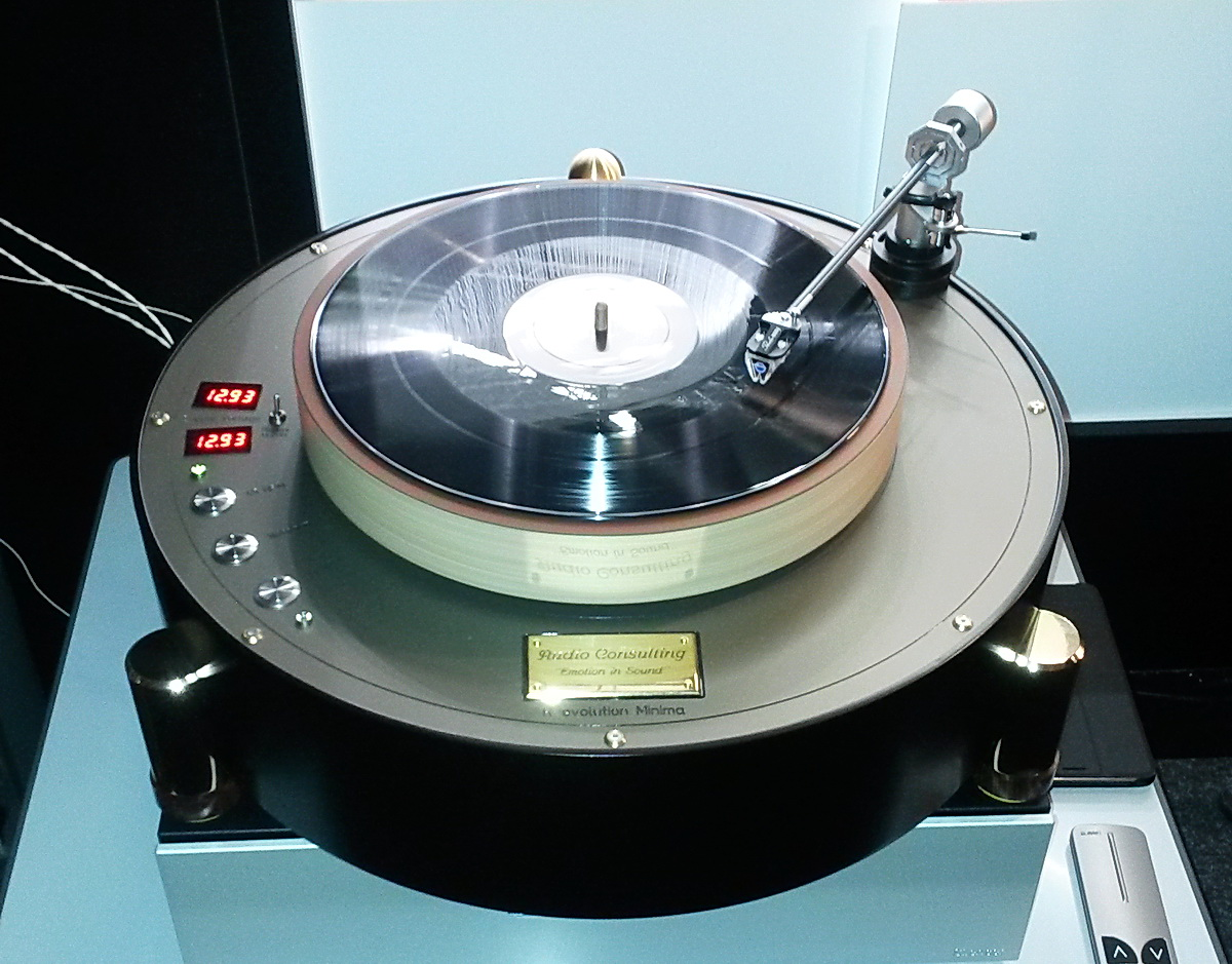 R-evolution Minima Turntable